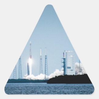 Lanzamientos del EXPERTO Pegatina Triangular