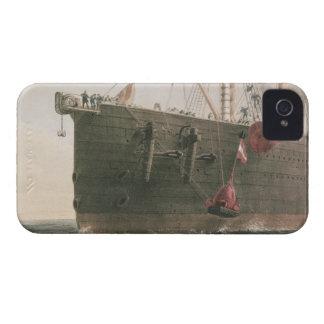 Lanzando la boya, el 8 de agosto de 1865, marcado iPhone 4 cárcasa