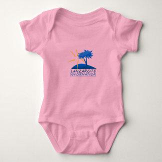 Lanzarote info Baby's t T-shirt
