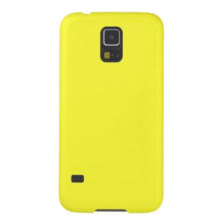 Lanzarote Lemon Acid Neon Yellow Tropical Romance Case For Galaxy S5