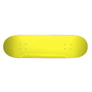 Lanzarote Lemon Acid Neon Yellow Tropical Romance Custom Skate Board