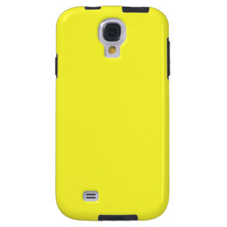 Lanzarote Lemon Acid Neon Yellow Tropical Romance Galaxy S4 Case