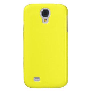 Lanzarote Lemon Acid Neon Yellow Tropical Romance Galaxy S4 Cover
