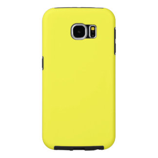 Lanzarote Lemon Acid Neon Yellow Tropical Romance Samsung Galaxy S6 Case