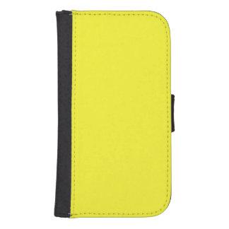 Lanzarote Lemon Acid Neon Yellow Tropical Romance Wallet Phone Case For Samsung Galaxy S4