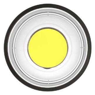 Lanzarote Lemon Acid Neon Yellow Tropical Romance Pet Bowl