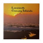 Lanzarote Sunset Ceramic Tiles