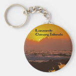 Lanzarote Sunset Keychains