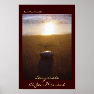 Lanzarote: Un momento del zen Poster