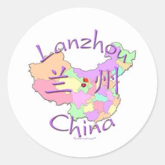 Lanzhou China Stickers