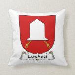 Lanzhuet Family Crest Pillow