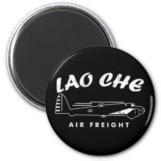 LAO-CHE air freight 2 Inch Round Magnet