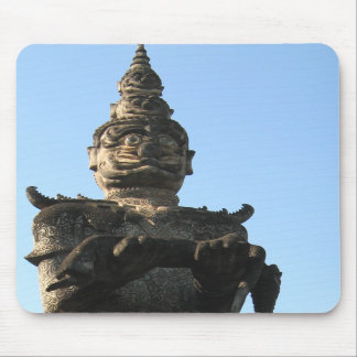 Lao Giant Demon Buddha Park Vientiane Laos Mouse Mat