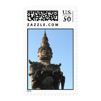 Lao Giant Demon ... Buddha Park, Vientiane, Laos Postage