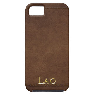 LAO Leather-look Customised Phone Case