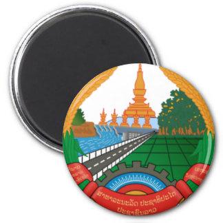 LAO NATIONAL EMBLEM - LAO BADGE MAGNET