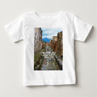 Lao Tzu JOURNEY travel quote Baby T-Shirt