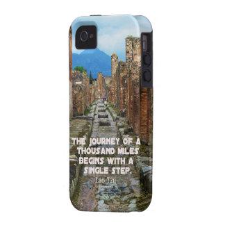 Lao Tzu JOURNEY travel quote Vibe iPhone 4 Cases