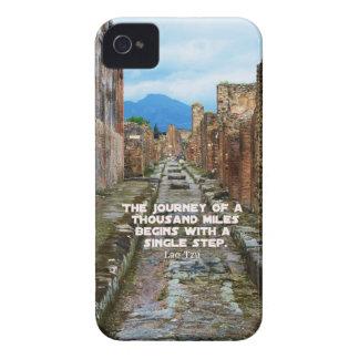 Lao Tzu JOURNEY travel quote iPhone 4 Covers