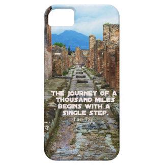Lao Tzu JOURNEY travel quote iPhone 5 Covers