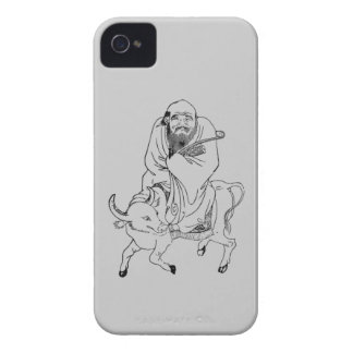Lao Tzu Ming dynasty chinese painting iPhone 4 Case-Mate Case