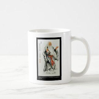 Lao Tzu Nature Never Hurries Quote Gifts & Tees Mug