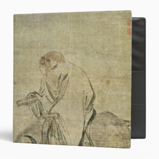 Lao-tzu  riding his ox, Chinese, Ming Dynasty 3 Ring Binder