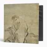 Lao-tzu  riding his ox, Chinese, Ming Dynasty Vinyl Binders