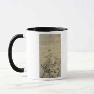 Lao-tzu  riding his ox, Chinese, Ming Dynasty Mug