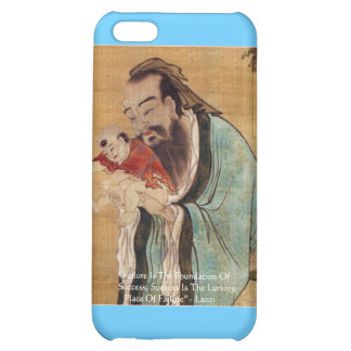 """Lao Tzu """"Success"""" Wisdom Quote Gifts Tees & Cards Case For iPhone 5C"""
