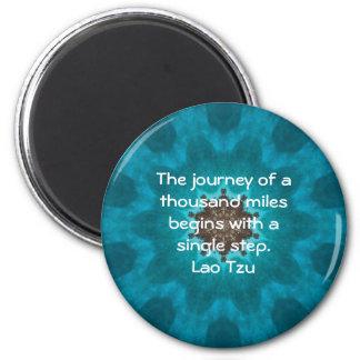 Lao Tzu Wisdom Motivational Quotation Saying Magnet