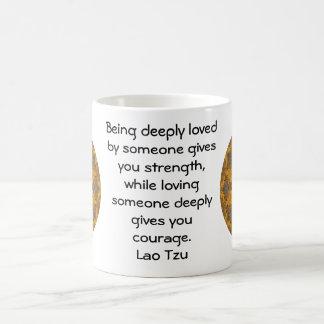 Lao Tzu Wisdom Quotation Saying Coffee Mug