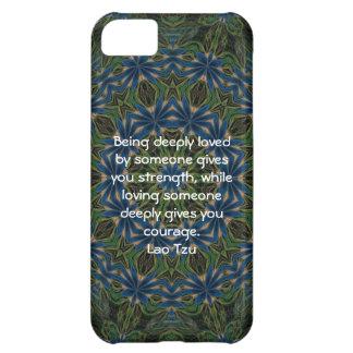 Lao Tzu Wisdom Quotation Saying iPhone 5C Case