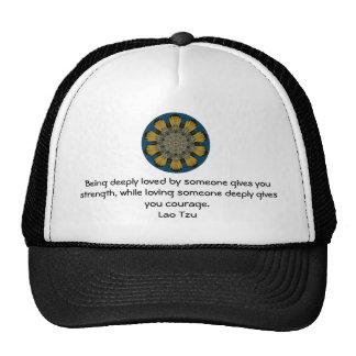 Lao Tzu Wisdom Quotation Saying Trucker Hat