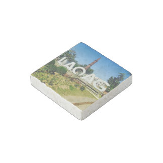 Laoag City, Phl.-Marble Stone Magnets, Individual Stone Magnet
