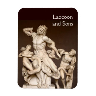 Laocoon and Sons Rectangular Photo Magnet