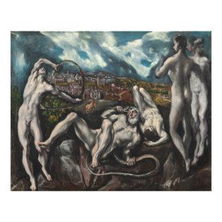 Laocoon de El Greco Arte Fotografico