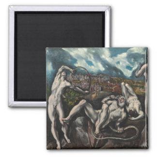 Laocoon de El Greco Imanes De Nevera