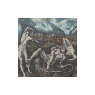 Laocoon de El Greco Imán De Piedra