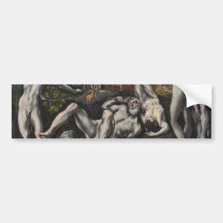 Laocoon de El Greco Pegatina Para Auto