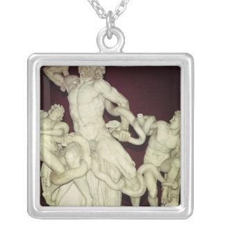 Laocoon, original helenística, siglo I Colgante Cuadrado