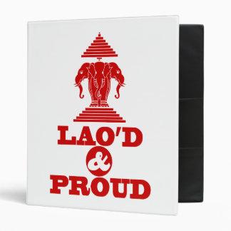 LAO'D & PROUD BINDER