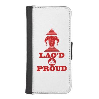 LAO'D & PROUD iPhone SE/5/5s WALLET CASE