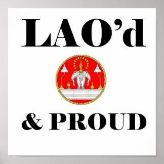 LAO'd & PROUD Poster