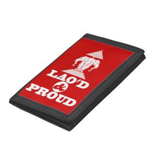 LAO'D & PROUD TRIFOLD WALLET