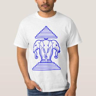 Laos 3 Head Elephants 2 T-Shirt