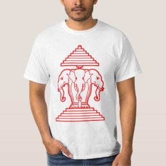 Laos 3 Head Elephants T-Shirt