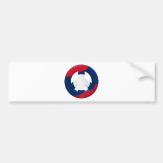 Laos Car Bumper Sticker