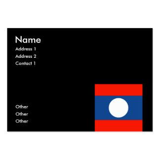 Laos Business Card Templates