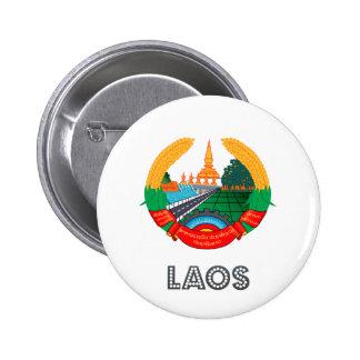 Laos Coat of Arms Pins